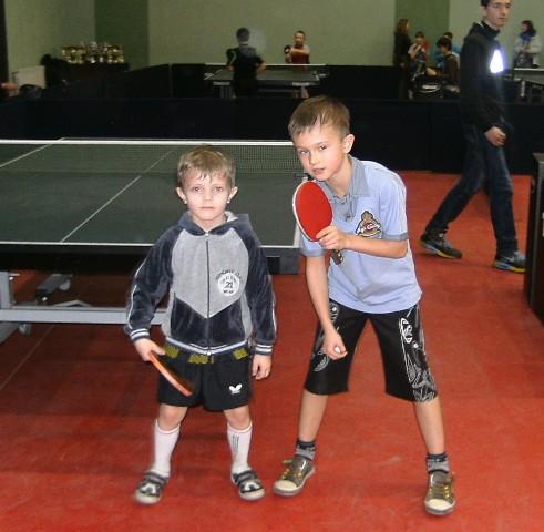 Самый юный участник соревнований Черновус Демьян