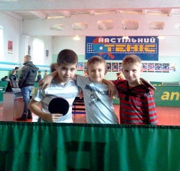 Участники соревнований. Справа-налево: Влад Кухарчук, Саша Лукьяненко, Дима Мазур