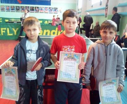 Призеры соревнований среди мальчиков 2003-2004 года рождения