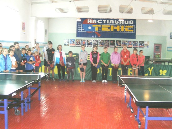 чемпионат области по настольному теннису_спортивный зал в Красилове