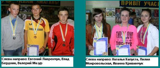 чемпионат Хмельницкой области_награждение
