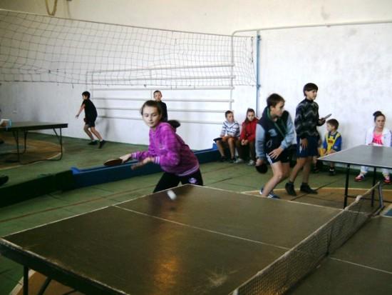 Михнов игра в настольный теннис