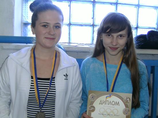 Михнов победители у девочек 1998 г.р.