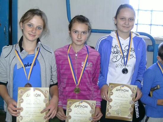 Михнов победители у девочек 2000 г.р.