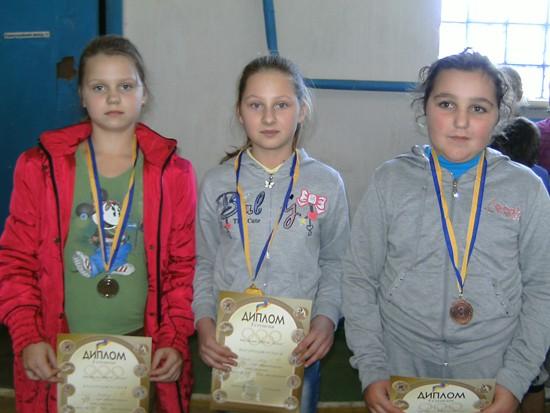 Михнов победители у девочек