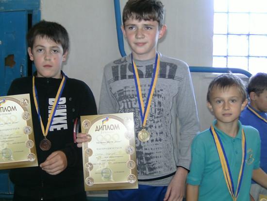 Михнов победители у мальчиков 2000 г.р.