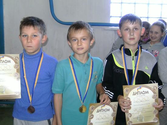 Михнов победители у мальчиков