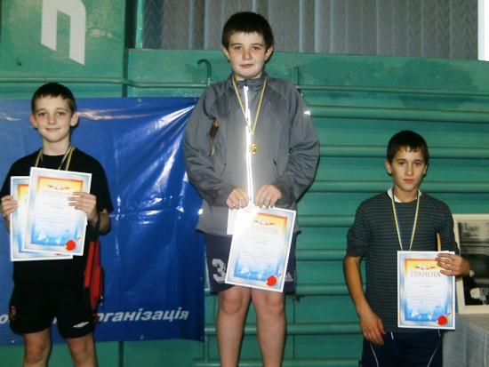 призеры теннисного турнира