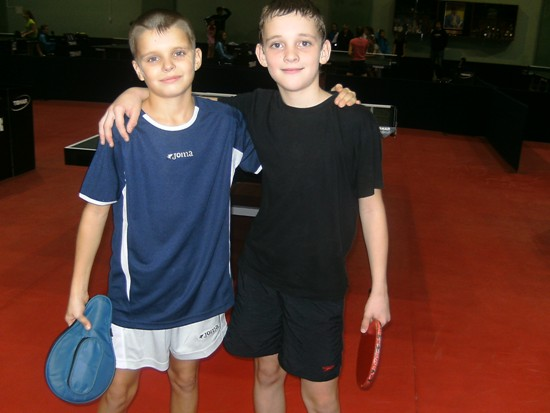 Жовква, теннисисты из Луцка