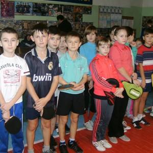 детский настольный теннис