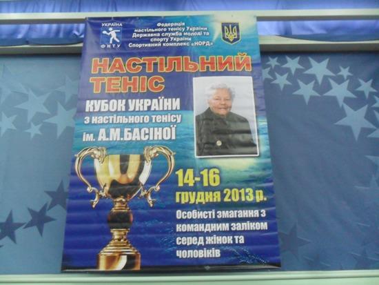Кубок Басиной, плакат.