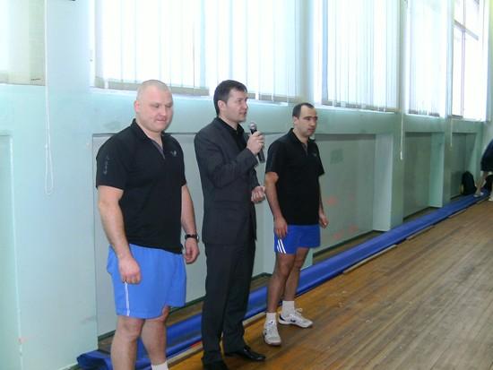 Нетишин, турнир по настольному теннису