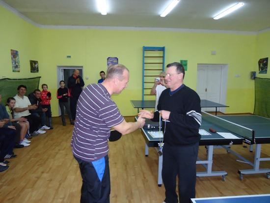 Славута, награждение теннисистов