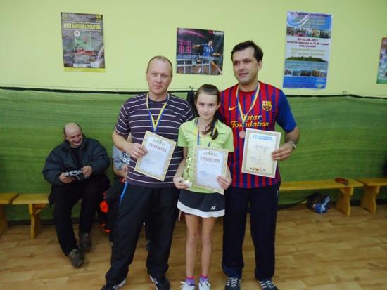 Славута, победители теннисного турнира