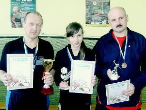 Славута, призеры по настольному теннису 3