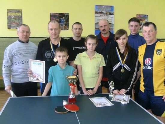 Славута, высшая лига по настольному теннису