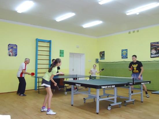 Теннисный зал в Славуте