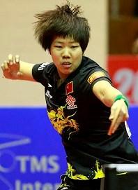 Победительница у женщин - китаянка Gu Yuting (Джу Ютинг)