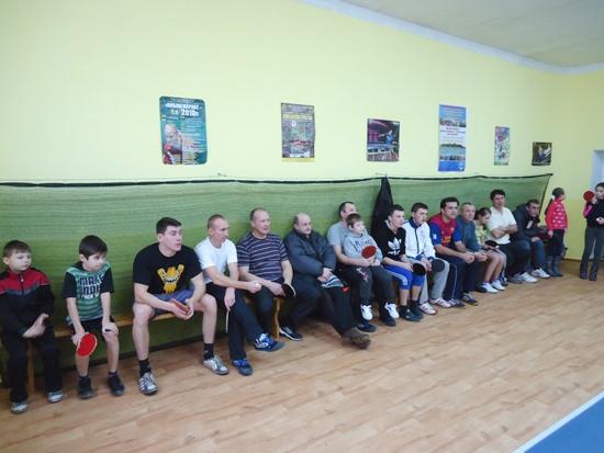 настольный теннис в Славуте 2013