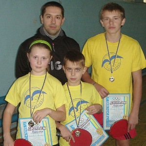 Богдан Вознюк и тренер