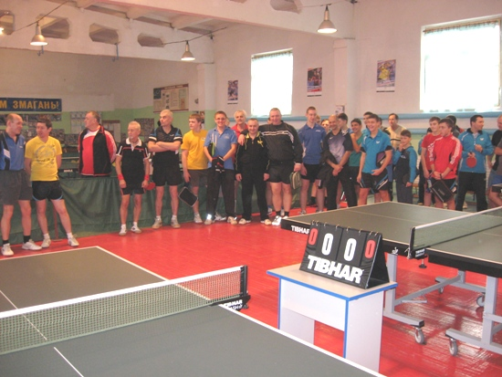 Хмельницкий турнир по настольному теннису