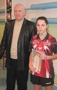 Налисниковская Елена и тренер