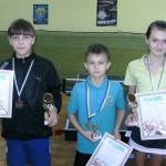 Славута, награждение настольный теннис
