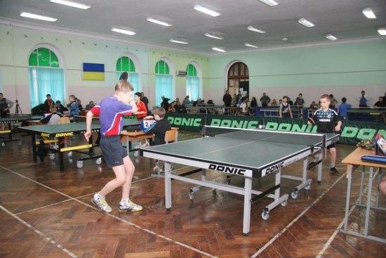 ТОП-24 в Одессе по настольному теннису