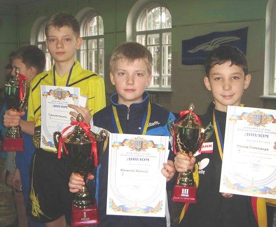 ТОП-24 в Одессе победители у мальчиков