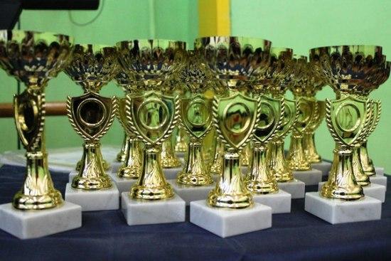 Ялта, награды для настольного тенниса