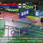 КЧУ Суперлига по настольному теннису 1