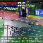 КЧУ Суперлига по настольному теннису 3