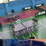 Теннисные поединки на КЧУ в Дружковке