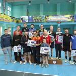 Призеры турнира по настольному теннису в Северодонецке