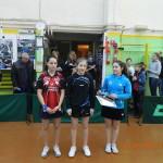 Награждение девочек на турнире ТОП-16 в Ялте