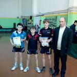 Награждение мальчиков на турнире ТОП-16 в Ялте