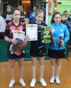 Ялта девочки призерки турнира