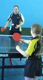 семейный турнир по настольному теннису