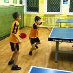 тренировка по настольному теннису