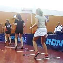Киев, тренировка по настольному теннису