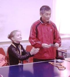 Эмма Панева, настольный теннис
