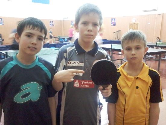 Киев, победители турнира по настольному теннису