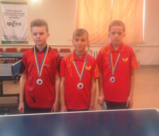 Победители теннисного турнира