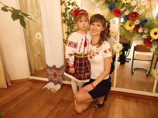 Вот такие мы с мамой мастерицы-украиночки!