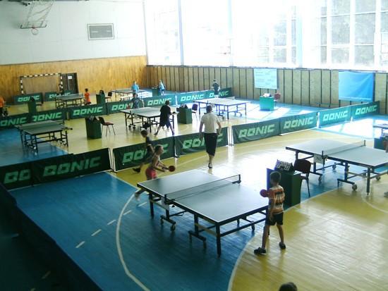 Теннисный зал в Луцке