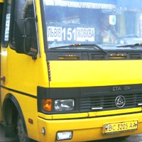Жовква, автобус 151