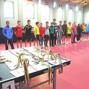 Жовква, чемпионат по настольному теннису