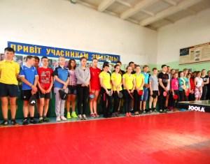 чемпионат ДЮСШ по настольному теннису
