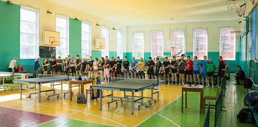настольный теннис в Каменце-Подольском