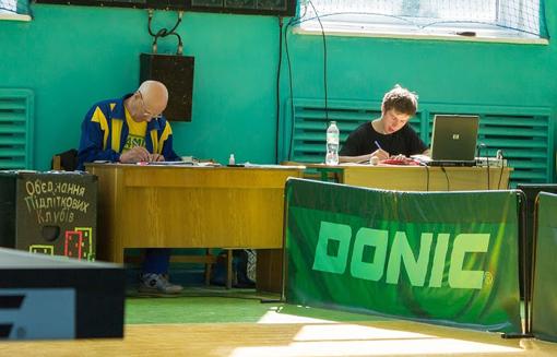 настольный теннис в Каменце-Подольском 4
